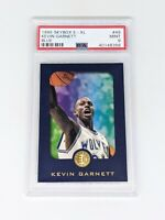 1995 Skybox E-XL Blue #49 Kevin Garnett ROOKIE RC PSA MINT 9 Timberwolves HOF