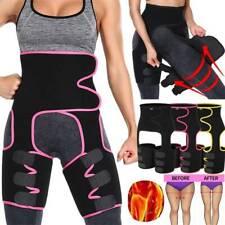 Women Thigh Trimmer High Waist Trainer Butt Lifter Leg Slimming Wrap Belt Shaper