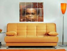 """NAS 36""""X32"""" INCH MOSAIC WALL POSTER ILLMATIC RAPPER HIP HOP"""
