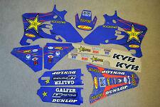 ROCKSTAR  GRAPHICS & BLK  BACKGRNDS YAMAHA YZ250F YZF250 YZ450F YZF450 03 04 05