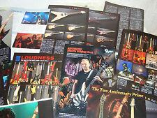 Loudness Akira Takasaki Rare Collection Clippings 42 pages Killer ESP Gear Detai
