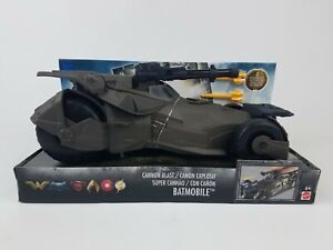 DC Justice League Cannon Blast Batmobile