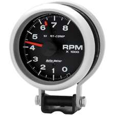 """BEETLE CABRIO Tachometer, 3 3/8"""", 8000rpm, with mounting bracket - AUTOMETER3780"""