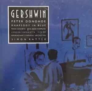 Gershwin-Rhapsody In Blue Etc CD.1991 EMI Classics CDC 7542802.Peter Donohoe.