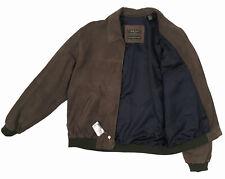 NEW $625 Bobby Jones Water Resistant Suede Jacket!   XXL  Weathered Brown
