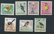 AUSTRALIA, 1964 birds set fine light MM, cat GBP11