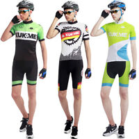 Men's MTB Road Cycling Jersey Team Bike Shirt+Short Sets Riding Outfits Uniforms