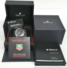 Tag Heuer Link CAT2010 Automatic Calibre 16 Date Chronograph Mens Box Papers