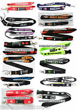 Motorcycle key Lanyard Ducati,Honda,Harley,Kawasaki,Yamaha,Suzuki,KTM,FOX,Energy
