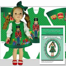 "Wellie Nutcracker Prince Christmas Outfit Kit Jumper Blouse Headband 14.5"" Doll"