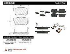 C-Tek 103.20070 Ceramic Brake Pads with Shims