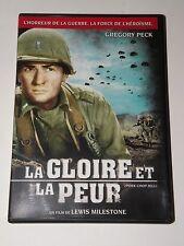 dvd   LA GLOIRE ET LA PEUR  gregory peck  très bon état