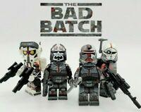Star Wars Bad Batch Clone Trooper Minifigure clone wars ahsoka Force 99 Lot