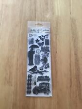 Tim Holtz Clear Polymer Stamps Visual Artistry Collection