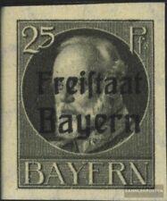 Bayern 158B postfrisch 1920 König Ludwig mit Aufdruck