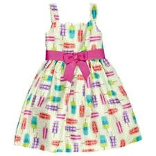 BONNIE JEAN® Toddler Girl 2T Popsicle Dot Print Shantung Dress NWT