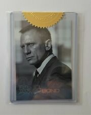 JAMES BOND AUTOGRAPHS & RELICS SKYFALL CASE TOPPER CARD BJB23 (2013)