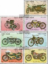 Vietnam 1572-1578 (kompl.Ausg.) gestempelt 1985 100 Jahre Motorräder