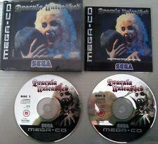 Sega Mega CD, Dracula Unleashed. Original. Completo.