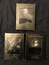 FRANKENSTEIN, WOLFMAN & THE CREATURE FROM THE BLACK LAGOON Legacy DVD set Lot