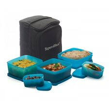 Signoraware Microwavable Trendy Lunch Box With Insulated Bag - 547