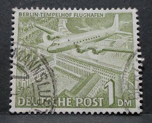 Berlin Bauten I -Mi. Nr. 57 gestempelt mit Plattenfehler TM 4 - 115,-- €