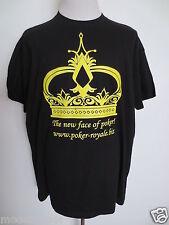 B&C collection T-Shirt poker-royale NEW FACE Rundhals XXXL schwarz gelb NEU/G1