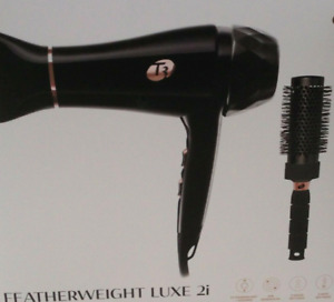 💯ORIGINAL T3 Luxe 2i Professional Hair Dryer Black Top Seller Wanted 3 Heat NIB