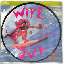 "Animal - Wipe Out  - Picture Disc - 7"" Vinyl Record Single"