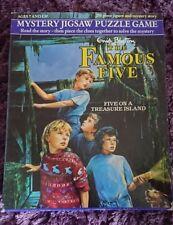 Enid BLYTON-Le célèbre cinq sur une île au trésor mystère, Jigsaw Puzzle Game