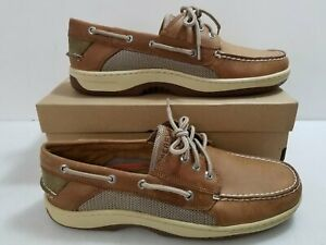 Sperry Dark Tan 'Billfish' Boat Shoes Size 12 w/ Box