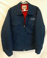 Retro Quilted Workers Jacket MALLINCKRODT ST LOUIS PLANT Vintage TODD Coat LARGE