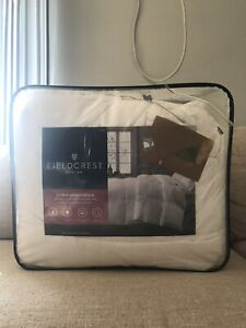 "NWT FIELDCREST KING ""WARMER"" WHITE DOWN COMFORTER SIZE 110 in. X  96 in."