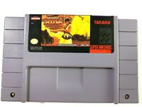 Samurai Shodown Showdown - SUPER NINTENDO SNES Game - Tested - Working Authentic