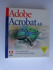 Adobe Acrobat 4.0 For Windows (New Factory Sealed Retail Box)