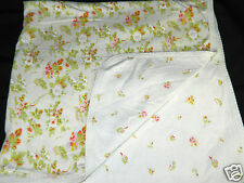 New listing Laura Ashley Baby Girls Security Blanket Pink Green Flower Pattern Reversible