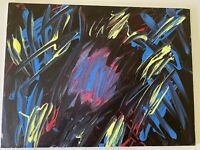 Acrylic paintings on canvas original abstract art signed by Artist KFI