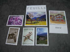 1 LOT 6 TIMBRES NEUFS ANDORRE (2005)Y.T.N°613/607/608/614/615/616