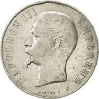 [#471657] France, Napoléon III, 5 Francs, 1856, Paris, TB, Petit A, Gadoury 734