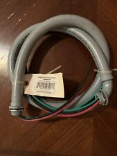 """AFC CABLE SYSTEMS POWER WHIP 3/4"""" X 4ft. Part No. - 8016"""
