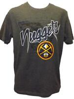 New Denver Nuggets Mens Sizes S-M-L-XL-2XL Gray Majestic Shirt