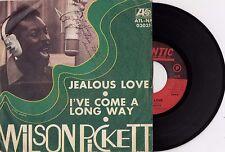 "WILSON PICKETT JEALOUS LOVE RARE SOUL 1968 VINYL RECORD ITALY 7"" PS"