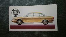 NSU WANKEL Ro  80 GERMANY 1968 BROOKE BOND TEA CARD History of Motor Car #50