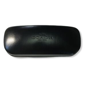 Coach Original Sunglass Eyeglass Black Hard Clamshell Case