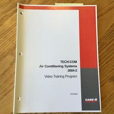 Case International IH TECH-COM AC AIR CONDITIONING SYSTEMS GUIDE SERVICE MANUAL