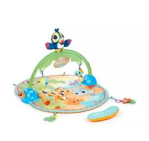 Little Tikes 3 in 1 Good Vibrating Deluxe Baby Activity Playmat Tummy Time Gym