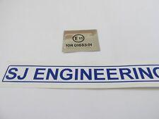 TRIUMPH E MARK STICKER DECAL 63-0074 NEW UK MADE SJ500