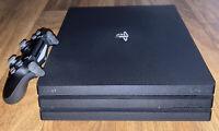 Sony PlayStation 4 Pro 1TB Jet Black Console Used