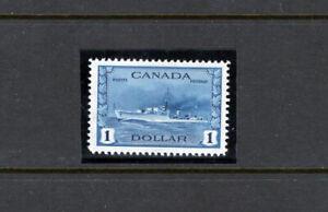 Canada 262 VF og NH $1 Destroyer, CV $100