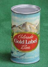 Colorado Gold Label Beer, Walter Brewing Co, Pueblo, Colorado Flat Top # 72-6